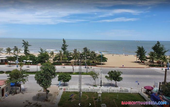 View hướng biển của khách sạn